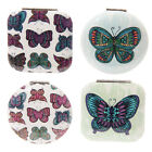Compact Mirror Chouko Butterfly Metal Green Purple Mother's Day Gifts