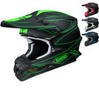 Shoei VFX-W Hectic Motocross MX Helmet Dirt Adventure Enduro Off Road Snell ACU