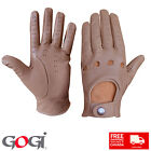 Classic Driving Gloves Quality Design 100% Real Leather Unlined All Season 1006