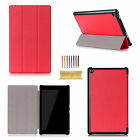 Luxury Leather Smart Cover Folio For Amazon Kindle Fire HD 8 2016 6th Gen Case