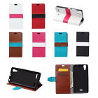 6 colour Flip Stand PU Leather Cover Case Pouch For ASUS Mobile Phone 04