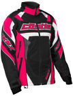 CastleX Womens Hot Pink/Black Bolt G4 Snowmobile Jacket Snow Snocross
