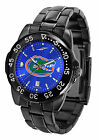 Florida Gators Watch Fantom Gunmetal Finish Ladies or Mens Blue Dial Anochrome
