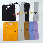 Men & Women T-shirt Comme des Garcons CDG PLAY Mini Heart  Short Sleeve Top