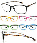 Retro Square Colorful Thin Frame Full Lens Reading Glasses Readers RE90