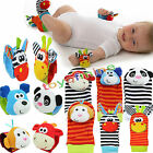Внешний вид - Multi shape Soft Toy Animal Baby Infant Kids Hand Wrist Bells Foot Sock Rattles