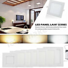 Ultrathin Square Flat LED Panel Light Dimmable LED Recessed Downlight 6/9/12/18W