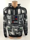 Disney Star Wars Darth Vadar Zip Up Costume Mask Jacket $29.99 USD