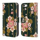 HEAD CASE DESIGNS LACQUERWARE LEATHER BOOK WALLET CASE COVER FOR APPLE iPHONE 5C