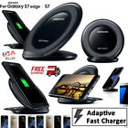 WIRELESS CHARGER CHARGING FOR SAMSUNG GALAXY S7 EDGE S8 Fast QI PAD WITH STAND