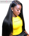Best Human Hair Glueless Full/Front Lace Wigs Peruvian Remy Silky Straight Wig