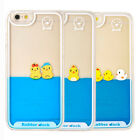 Novelty Swimming Floating Ducks Liquid Phone Case Cover for Apple iPhone 6/6s