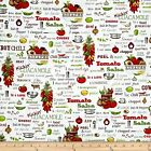 Kiss the Cook Mary Lake Thompson Cowboy Chili Salsa By The yard Fabric