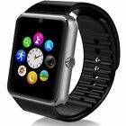 Bluetooth Touch Screen Smart Wrist Watch GSM Pedometer For Android & IOS SAMSUNG