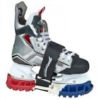 New SKABoots Ice Hockey Figure Skates Walkable Guards Boots Vibram Outsole USA