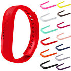 Silicone Watch Band Replacement Bracelet For Fitbit Flex 2 Wristband Red/Yellow