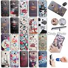 "For Meizu M3E Meizu Meilan E 5.5"" 3D Emboss Cartoon Finger Ring Stand Case Cover"