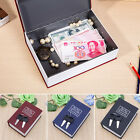 Mini Home Dictionary Security Book Safe Cash Jewelry Storage Key Lock Box Hot