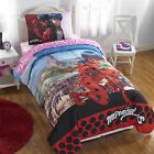**NEW KIDS MIRACULOUS LADY BUG BED IN A BAG / COMFORTER SET