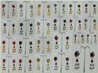 Indian Ethnic Fashion Jewelry Wedding Party Polki New Long Earring Women