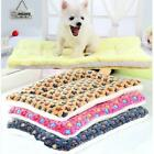 Warm Winter Pet Dog Cat Puppy Kennel Cage House Seat Cushion Mat Pad Blanket Bed