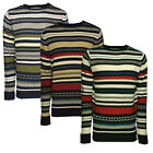 Soulstar Mens Retro Knitted Jumper Long Sleeved Adults Chunky Knit Sweater