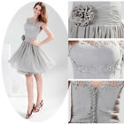 Vintage Short Mother of the Bride Short Evening Prom Dress Formal Wedding Party
