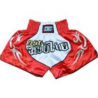 RED DUO 'BLADE' MUAY THAI KICK BOXING FIGHTER TRUNKS (Size: XS Kids - XL Adults)