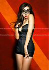 SEXY BLACK LACE EYE MASK MASQUERADE PARTY BALL FANCY DRESS LADIES GIRLS COSTUME