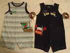 CARTERS 0-3 Month Navy Cabana Cutie Crab or Striped Alligator Outfit Choice NWT