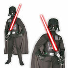 Childrens Darth Vader Costume Rubies Outfit Kids Star Wars Boys Fancy Dress