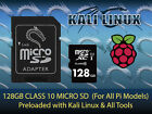Kali Linux + All Tools Penetration Testing for Raspberry Pi Class 10 Micro SD