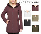 NEW Ladies' Andrew Marc 4-Way Stretch Long Softshell Hooded Jacket - VARIETY