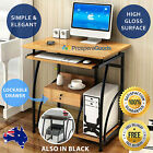NEW Simple Small Desk Gloss Drawer Home Student Study Computer Office Furniture