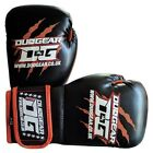 KIDS BLACK 'THAI-GER' BOXING SPARRING AND PADWORK THAIBOXING KICKBOXING GLOVES
