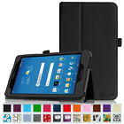 AT&T Trek 2 HD 8 (6461A) 4G LTE 8-INCH 2016 Tablet Leather Case Cover