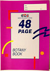 2 Books or 4 Books BOTANY BOOK A4 SIZE 48 PAGES + FREE GIFT + FREE SHIPPING