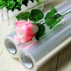 2 metre PLAIN Various Design Clear Cellophane Roll Hamper Flower Gift Wrap Film
