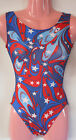 FlipFlop Leos Gymnastics Leotard,  Gymnast Leotards - PATRIOTIC PRIDE