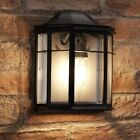 Auraglow Vintage Outdoor Wall Lantern Retro Garden Light - Light Bulb Included