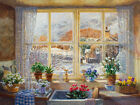 Stephen Darbishire UNEXPECTED SNOWFALL landscape print, PREMIUM QUALITY new