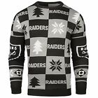 Forever Collectibles NFL Men's Oakland Raiders 2016 Patches Ugly Sweater