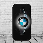 BMW CAR LUXURY FLIP / WALLET Phone Case Cover iPhone / Samsung All models