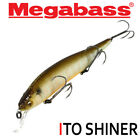 Assorted Colors MEGABASS ITO SHINER 14 g Suspending Minnow