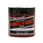 MANIC PANIC Cream Formula Semi-Permanent Hair Color Dye 4oz with FREE NAIL FILE