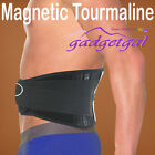Magnetic Lumbar Back Waist Support Brace Double Banded Adjustable Tourmaline Pad