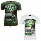 Voi Jeans Eagle Rubberised Print Mens T Shirt New Designer Cotton Crew Neck Top