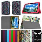 "Premium Vegan Leather Case Stand Cover for Verizon Ellipsis 10"" 4G LTE Tablet"