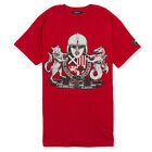 """""""ENGLISC ARMS"""" ENGLAND T-SHIRT - ANTIQUE RED, Anglo-Saxon, Sutton Hoo, Senlak"""