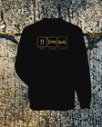 EAT, SLEEP, GOLDWING SWEATSHIRT, BLACK